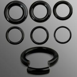 Kółko - segment ring czarny