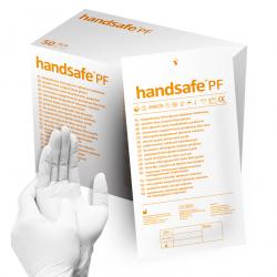 Rękawice jałowe bezpudrowe lateksowe HA112