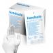 Rękawice jałowe pudrowane lateksowe