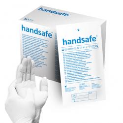 Rękawice jałowe pudrowane lateksowe HA115