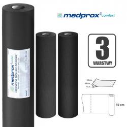 Czarny podkład higieniczny MEDPROX COMFORT