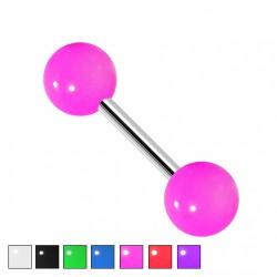 Kolczyk do ucha - Kolorowe kulki KU560
