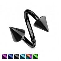 Twister ze stożkami - Kolorowy