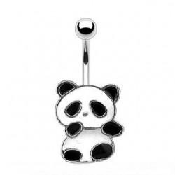 Kolczyk do pępka - Panda PB507