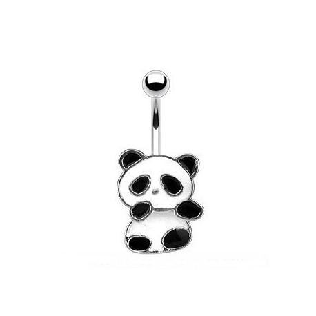 Kolczyk do pępka - Panda