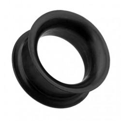 Czarne silikonowe tunele typu earskin TT209