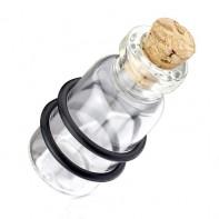 Plug - szklana butelka