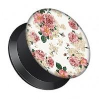 Plug z odkręcaną ścianką - Drobne kwiatki