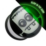 Plug z o-ringiem świecący w ciemności