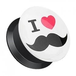 Plug z odkręcaną ścianką - Mustache TT357