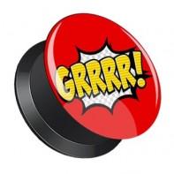 Plug z odkręcaną ścianką - GRRRR!