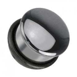 Plug z kamienia - Hematyt TT813