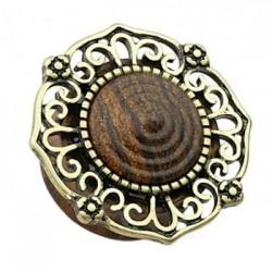 Drewniany plug z ornamentem TT917