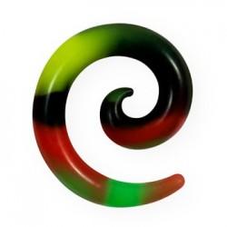 Spirala silikonowa - kolorowa