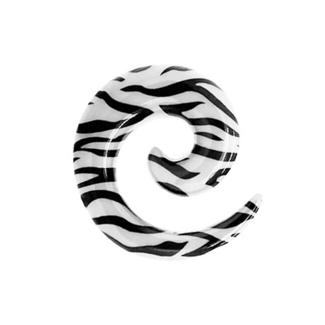 Spirala - Czarne pasy