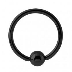 Czarne kółko anodyzowane PK503