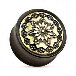 Drewniany plug - Floral Tribal TT927