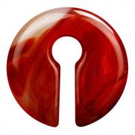 Ciężarek z kamienia - Czerwony agat