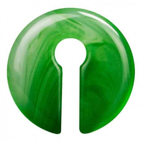 Ciężarek z kamienia - Zielony agat