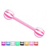 Kolczyk do języka - Lollipop