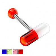 Kolczyk do języka - Pill
