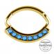 Złoty clicker z kryształami