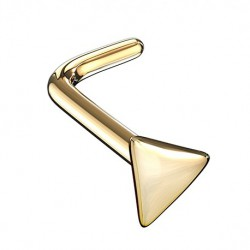 Kolczyk do nosa - Złoty trójkąt PN731
