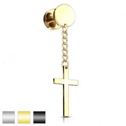 Fake plug - wiszący krzyż KF554