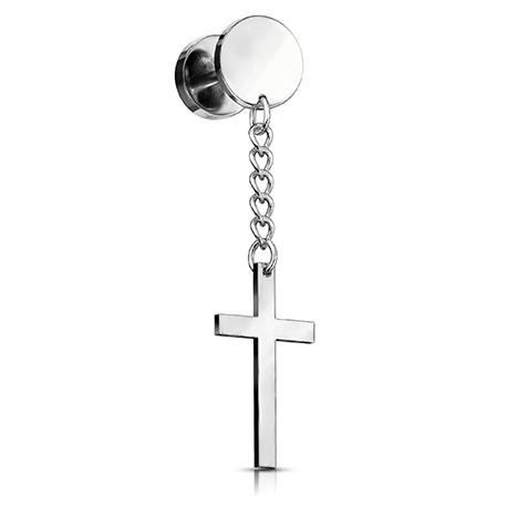 Fake plug - wiszący krzyż