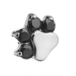 Tytanowa nakrętka - kryształowa łapka