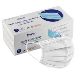 Białe maseczki ochronne CedarMed HA122 A