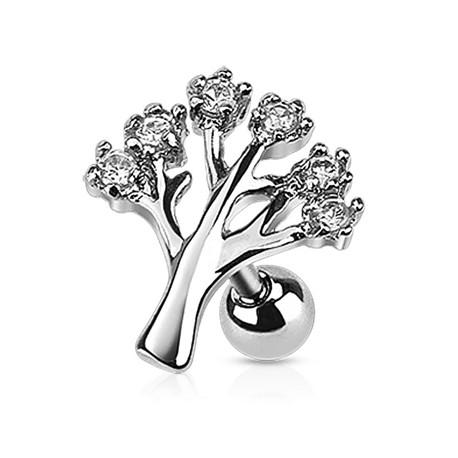 Kolczyk do ucha - Drzewko