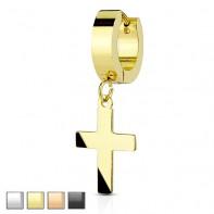 Clicker z wiszącym krzyżem