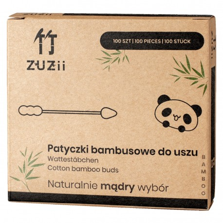 Patyczki kosmetyczne bambusowe