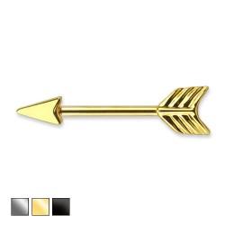 Kolczyk do sutka - Strzała Amora PX525