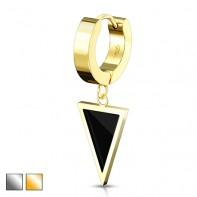 Clicker z trójkątem